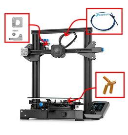 Creality/Ender Creality Ender-3 V2 3D-printer NOUVEAU- 220x220x250 mm