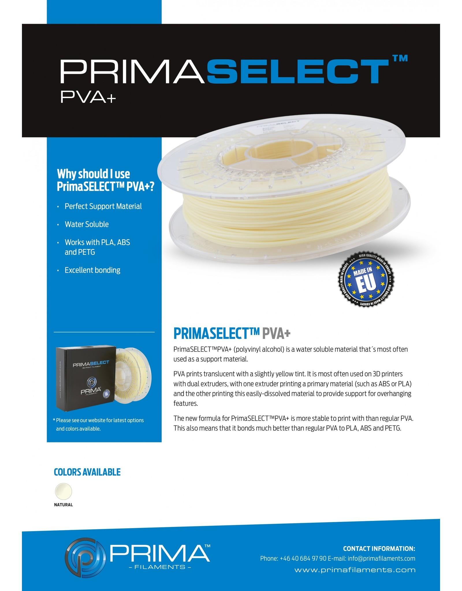 Prima PrimaSelect PVA+ - 1.75mm - 500 g - Natural