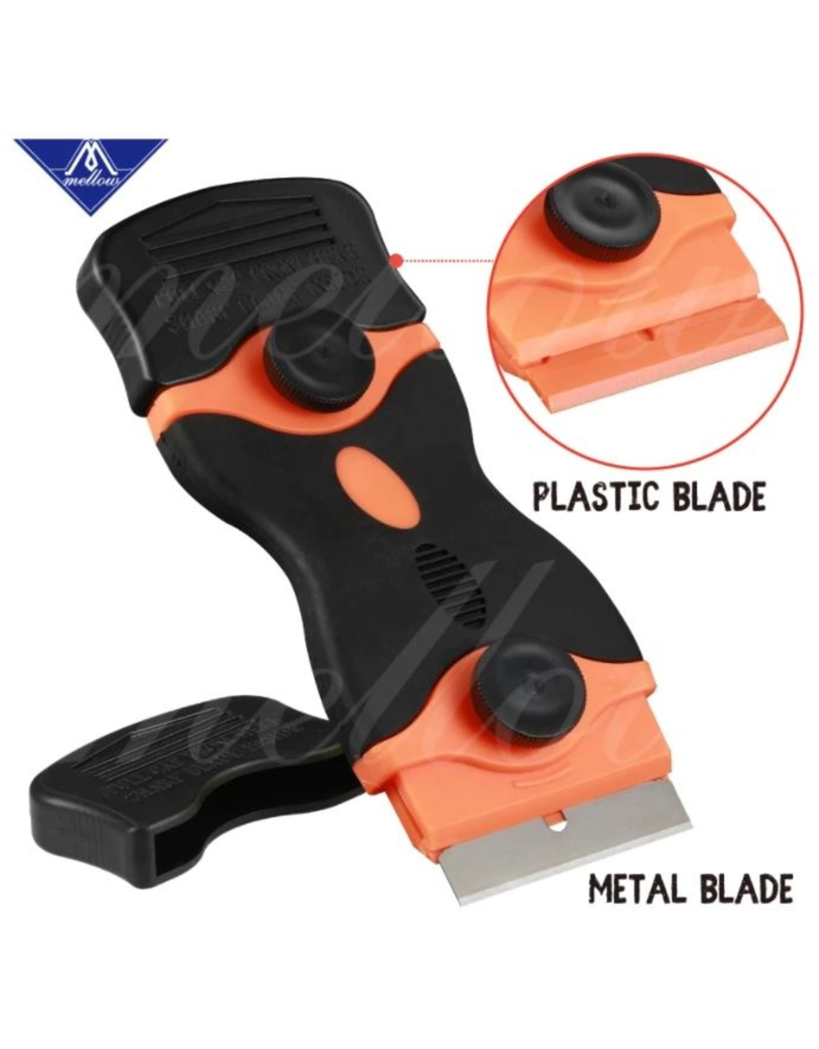 3D In The Box Double bladed scraper - Metal or Plastic