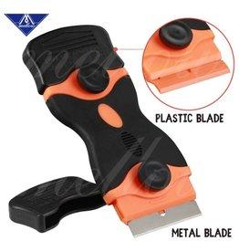3D In The Box Grattoir à double lame - métal ou plastique