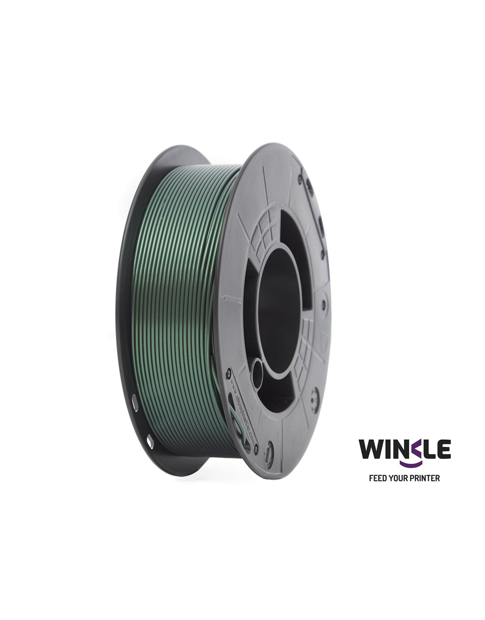 WINKLE PLA-HD WINKLE 1kg Metallic Groen