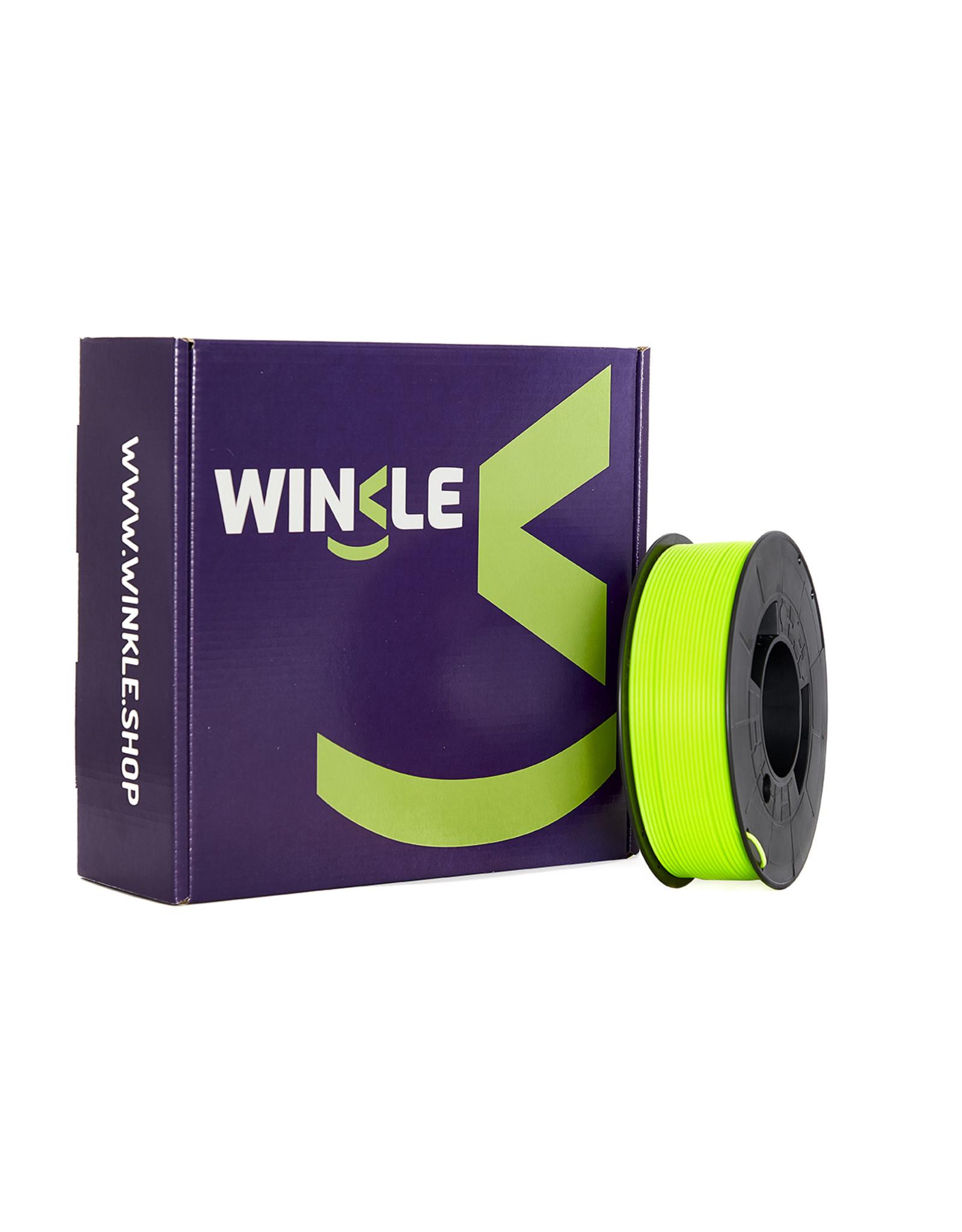 WINKLE PLA-HD WINKLE 1kg Fluorescent  geel
