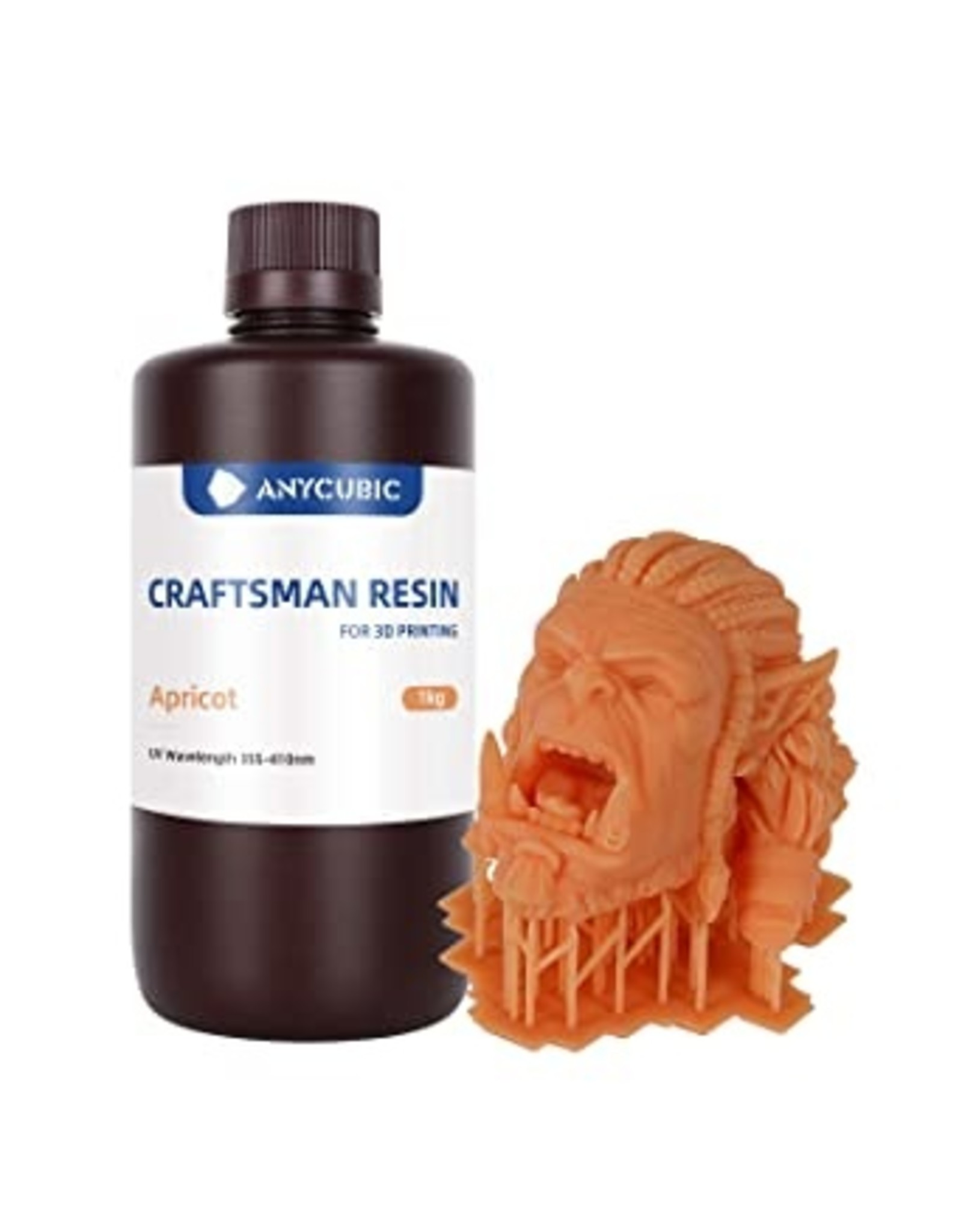 Anycubic Résine UV Craftsman Anycubic 1KG Apricot
