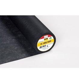 Vlieseline Vlieseline H180/309 zwart opstrijkbaar 90 cm