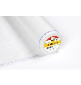 Vlieseline Vlieseline G405/315 wit opstrijkbaar 90 cm