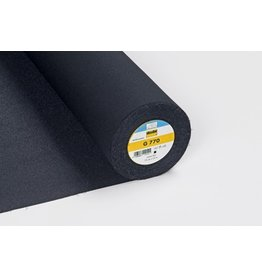 Vlieseline Vlieseline G770 zwart opstrijkbaar 75 cm
