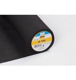 Vlieseline Vlieseline G785 zwart opstrijkbaar 90 cm