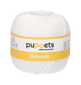 Coats Puppets Eldorado haakgaren 07001 nr.10 100gr