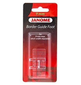 Janome Janome Border guide voet 9mm