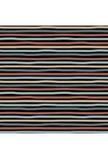 Poppy Poppy Stripes Black