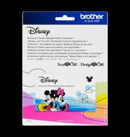 Brother Brother ScanNCut Mickey & Friends patronencollectie voor applicaties 1