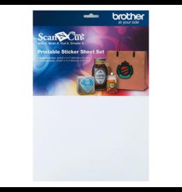 Brother Brother ScanNCut Printbare set stickervellen