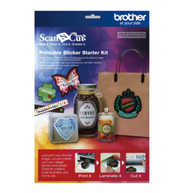 Brother Brother ScanNCut Startpakket printbare stickers