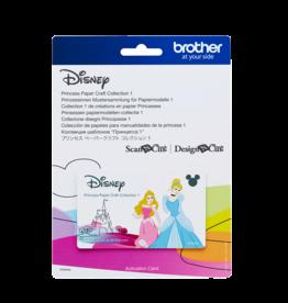 Brother Brother ScanNCut prinsessen papiermodellen-collectie 1