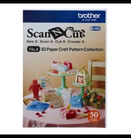 Brother Brother ScanNCut Collectie voor 3D-papiermodellen