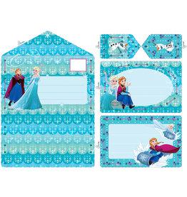 Vervaco Vervaco Borduurkaartenpakket Frozen