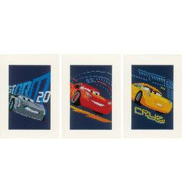 Vervaco Vervaco Telpakket Cars 3 kaarten met omslag