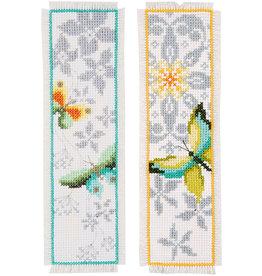 Vervaco Vervaco Kruisteektelpakket bladwijzers vlinders