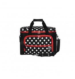 Prym Prym naaimachinetas polka dot zwart/wit/rood