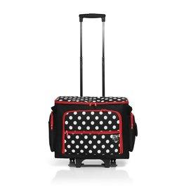 Prym Prym naaimachinetrolley polka dot zwart/wit/rood