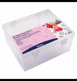 Hemline Hemline Garenbox 20 garenklossen transparant
