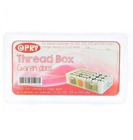 Opry Opry garendoos 42 spoeltjes