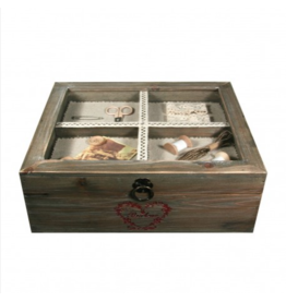 Mediac Mediac houten naaidoos vintage 001