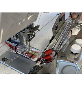 Janome Janome CoverPro bandgeleider + transparante voet met geleider