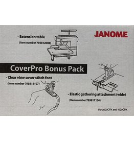 Janome Janome CoverPro bonuskit