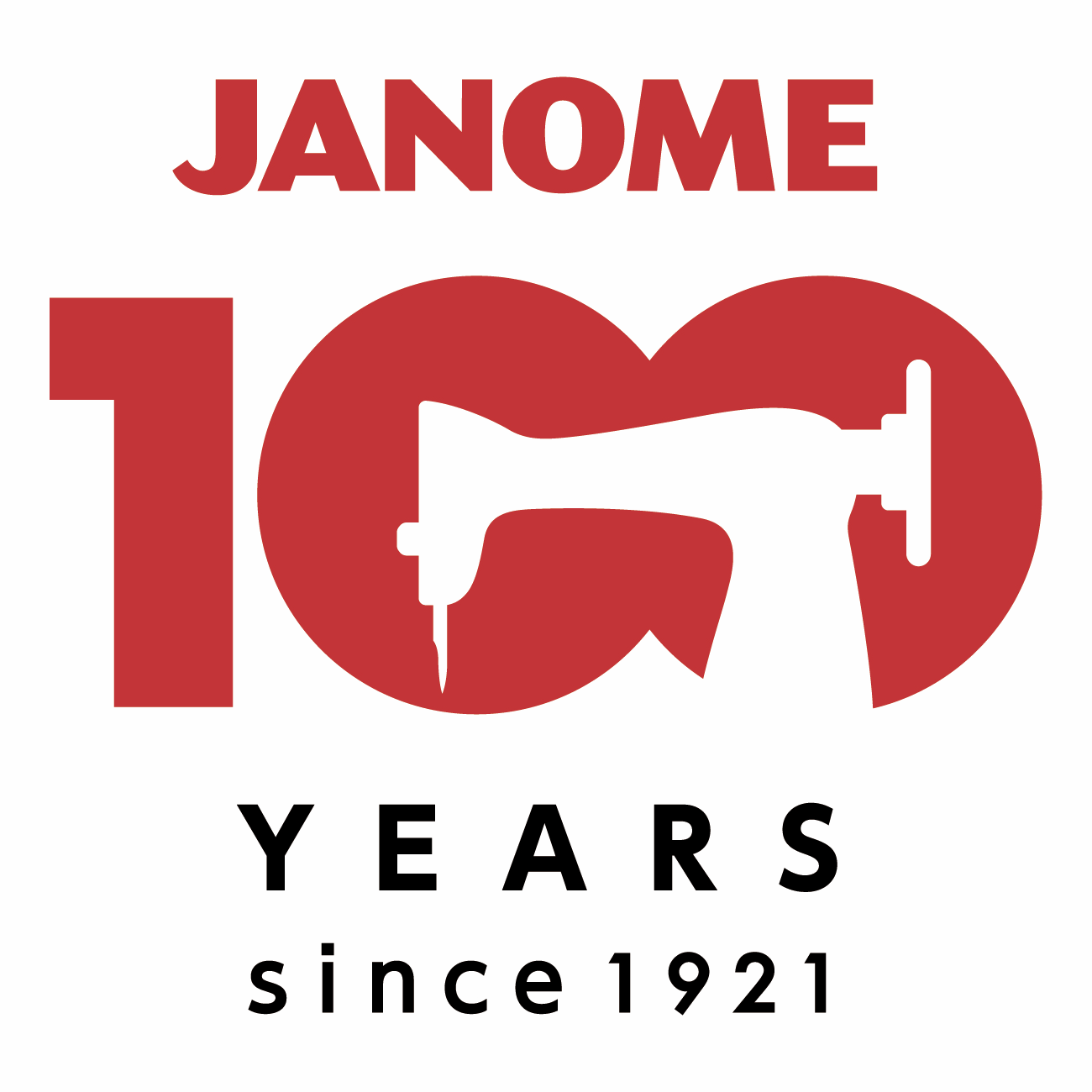 Janome naaimachnes 100 jaar