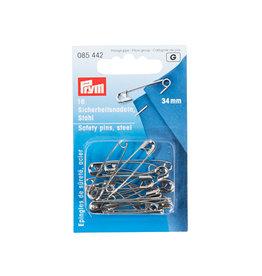 Prym Veiligheidsspelden staal No. 1 zilverkleurig 34 mm