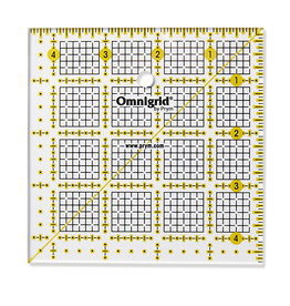 Prym Universele liniaal 4,5 x 4,5 inch Omnigrid