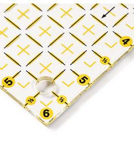 Prym Driehoek voor 1/2 kwadraat tot 6 inch Omnigrid