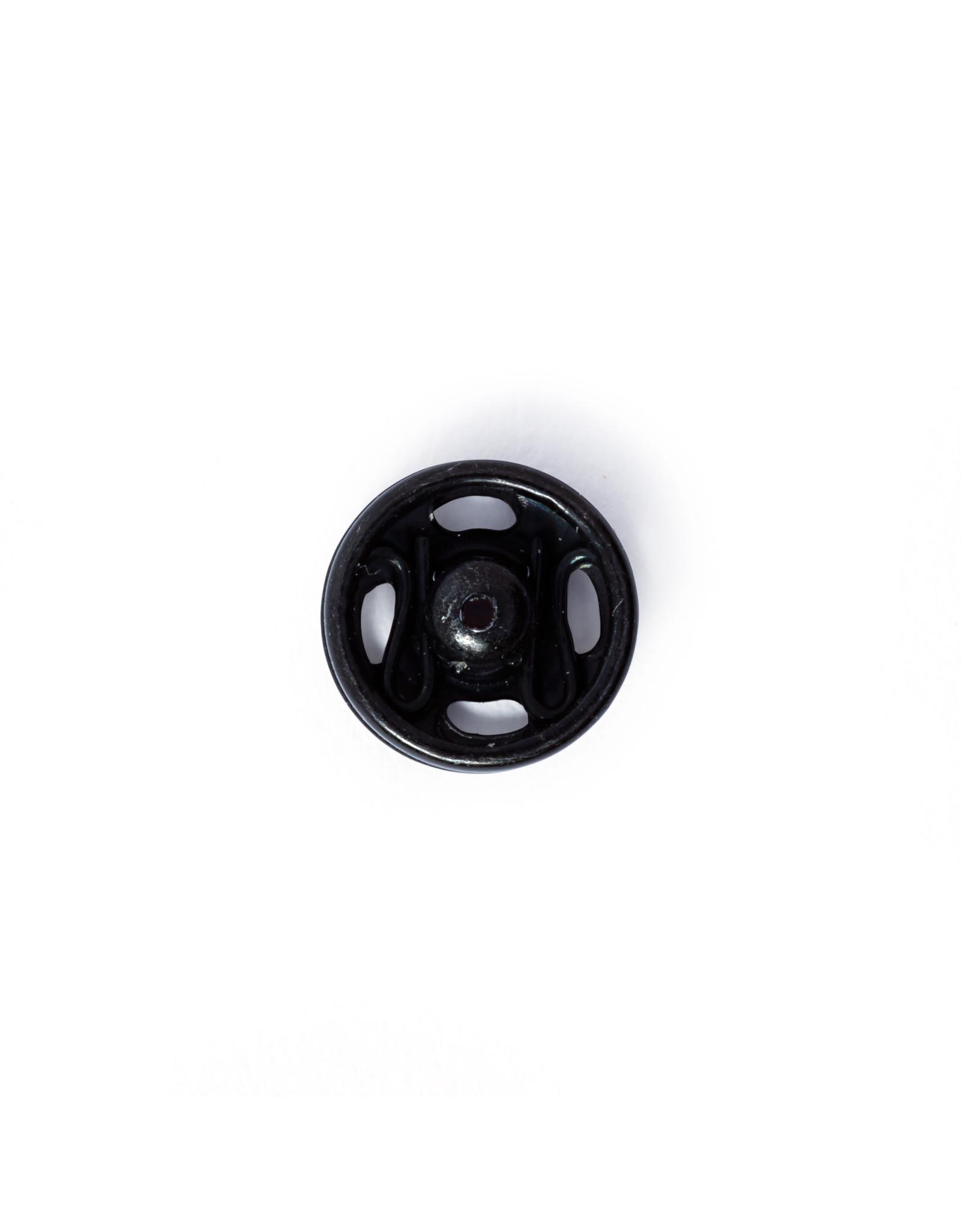 Prym Aannaaidrukknopen MS 7 mm zwart