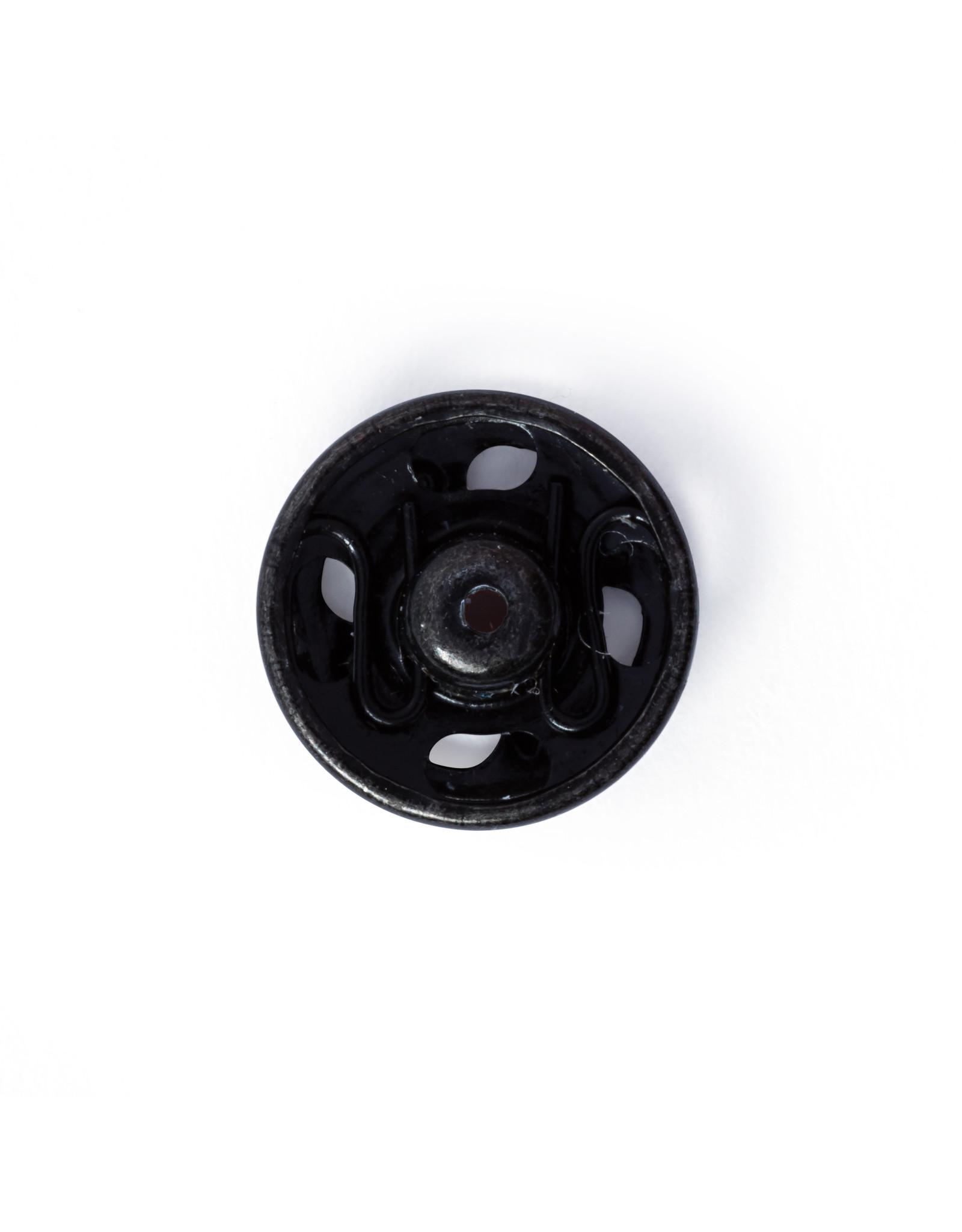 Prym Aannaaidrukknopen MS 11 mm zwart