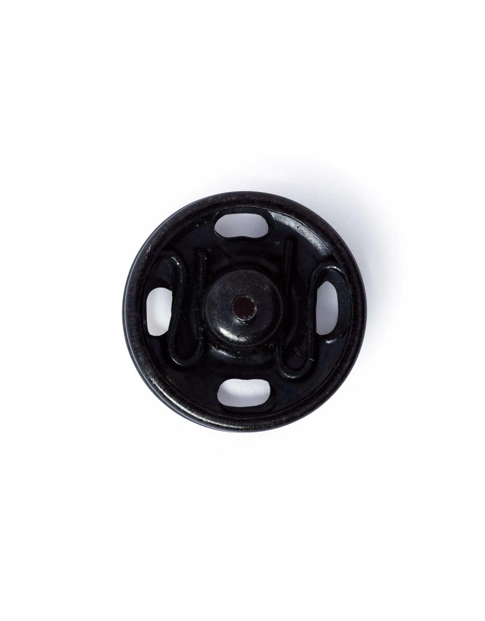 Prym Aannaaidrukknopen MS 13 mm zwart
