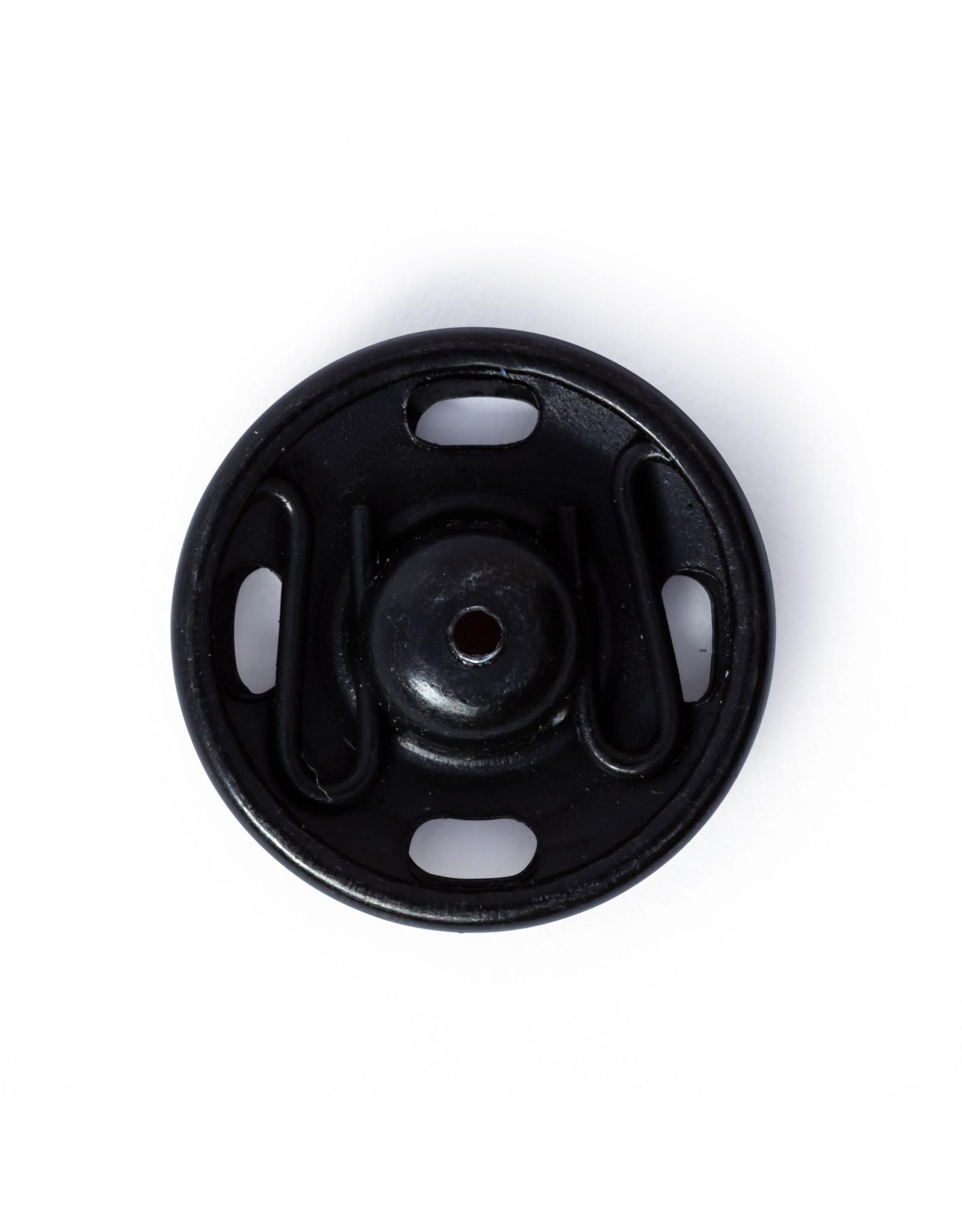 Prym Aannaaidrukknopen MS 15 mm zwart