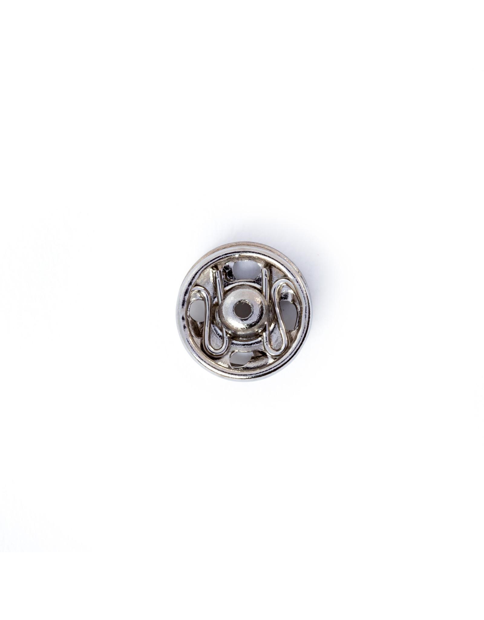 Prym Aannaaidrukknopen MS 6 mm zilverkleurig
