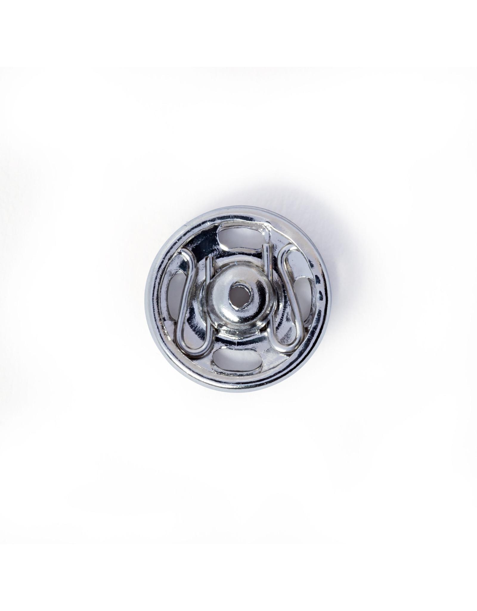 Prym Aannaaidrukknopen MS 9 mm zilverkleurig