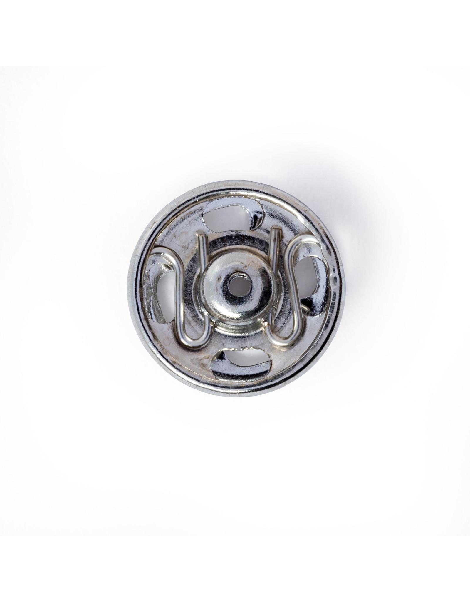 Prym Aannaaidrukknopen MS 11 mm zilverkleurig