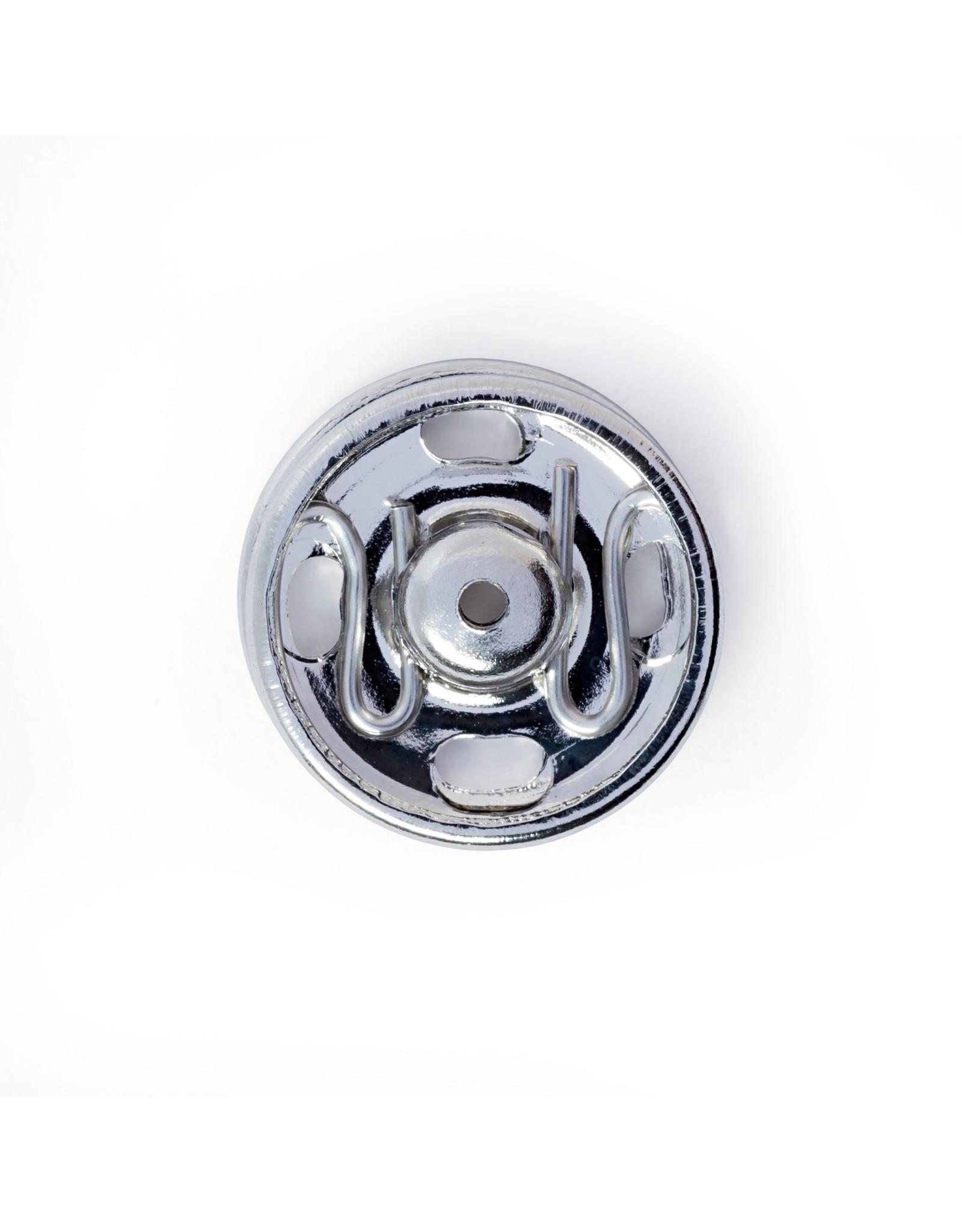 Prym Aannaaidrukknopen MS 13 mm zilverkleurig