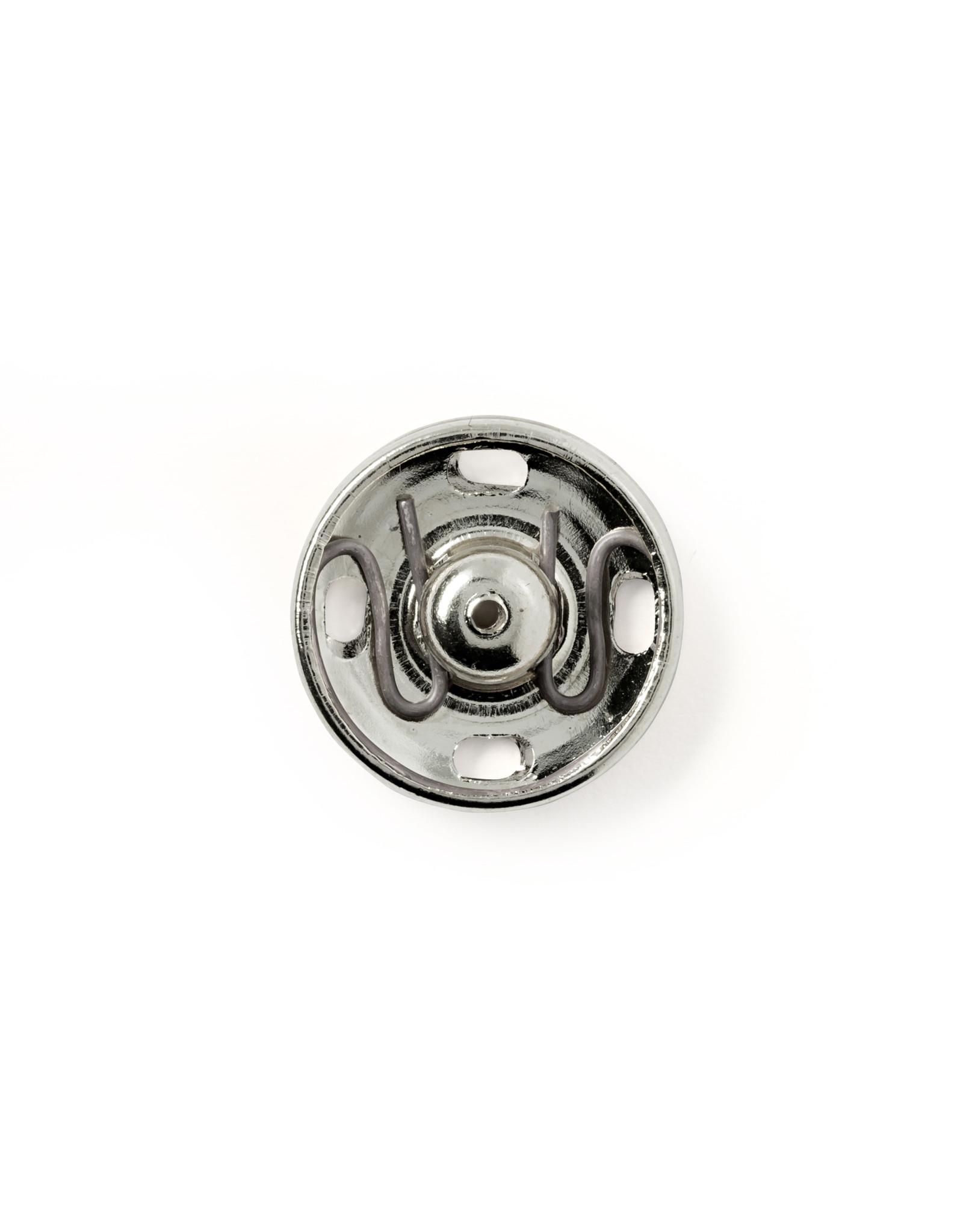 Prym Aannaaidrukknopen MS 17 mm zilverkleurig