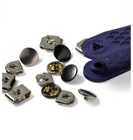 Prym Broekhaken en -staafjes MS 13 mm zilverkleurig/gebronsd