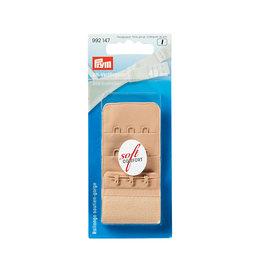 Prym BH-verlengstuk 40 mm 3 x 3 haken huidkleurig