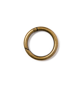 Prym Ringen voor tassen 35 mm oudmessing