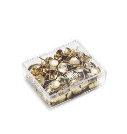 Prym Punaises ijzer goudkleurig - 220 stuks/pce