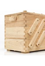 Prym Naaibox hout licht L - 1 stuks/pce