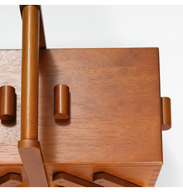 Prym Naaibox hout donker M - 1 stuks/pce