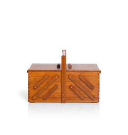 Prym Naaibox hout donker L - 1 stuks/pce