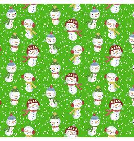 Vervaco Stof kerstmis sneeuwman